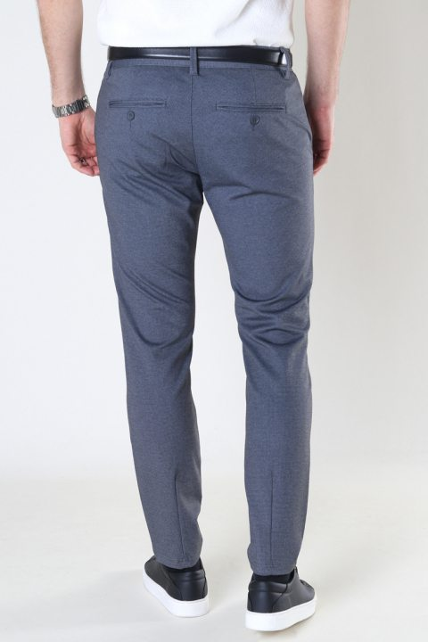 ONLY & SONS ONSMARK TAP PANT CHECK GD 8649 NOOS Dark Navy