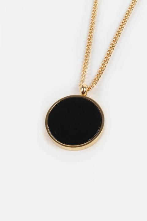 Northern Legacy Black Onyx Ketting Gold