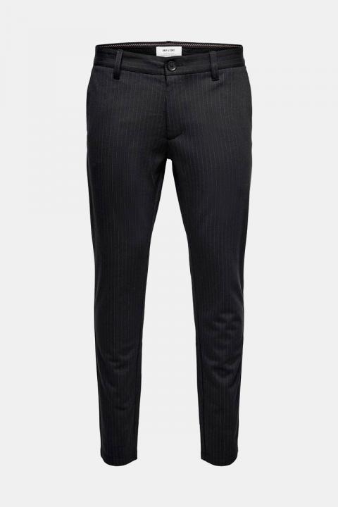 Only & Sons Mark Pants Black Stripe Noos