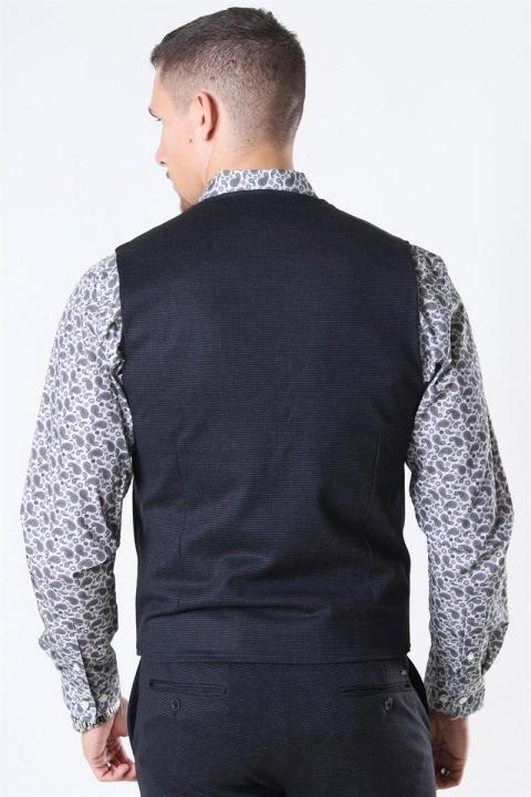 Jeff Coolidge Vest Mini Check