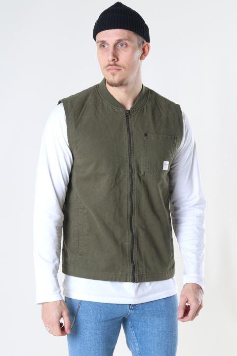 Only & Sons Onsdavid Life Vest Otw Olive Night