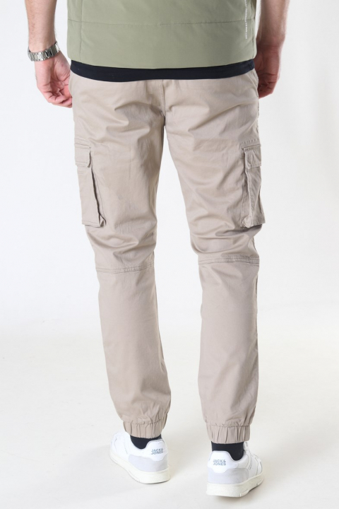 Only & Sons Cam Stage Cargo Cuff Pants Black
