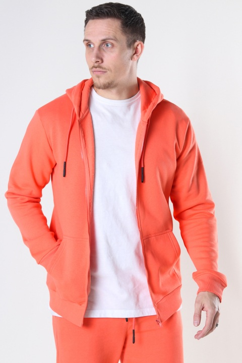 Only & Sons Onsceres Life Zip Thr. Hoodie Sweat Camelia