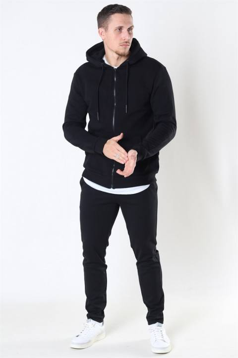 Only & Sons Ceres Life Zip Hoodie Sweat Black
