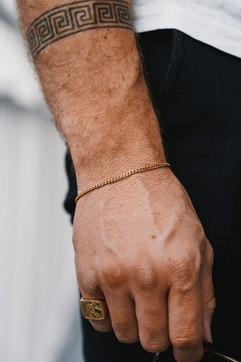 Northern Legacy Minimal Sequence Armband Guld