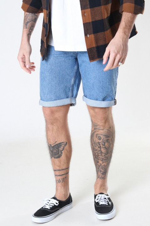 ONLY & SONS ONSAVI LIFE LOOSE SHORTS L BLUE PK 9104 Blue Denim