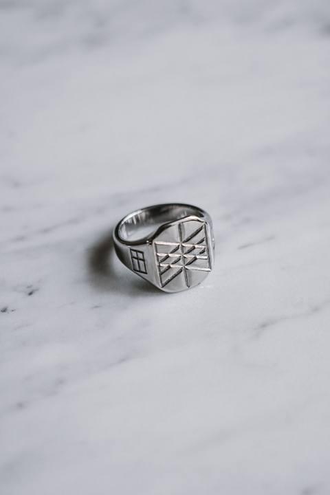 Northern Legacy Web of Wyrd Signature Ring Silvertonet.
