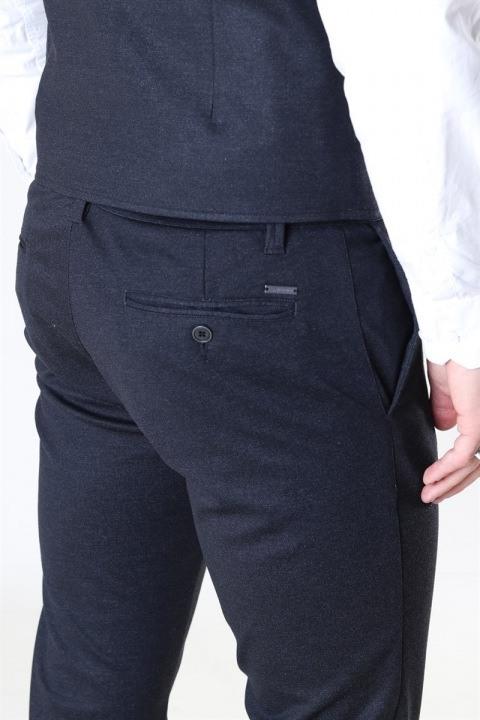 Jeff Cranberry Pants Mini Herringbone