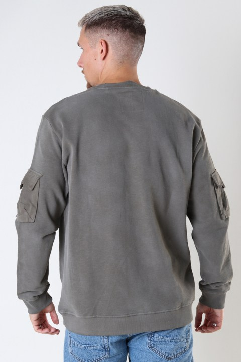 ONLY & SONS ONSNINO LIFE SWEAT NF 9096 Canteen