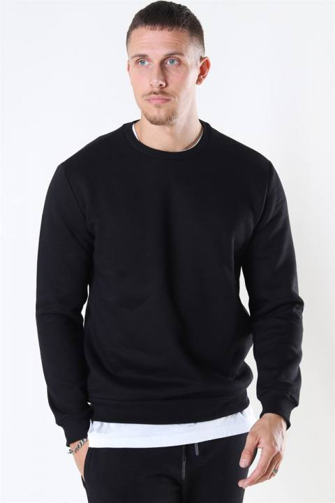 Only & Sons Ceres Life Crewneck Black