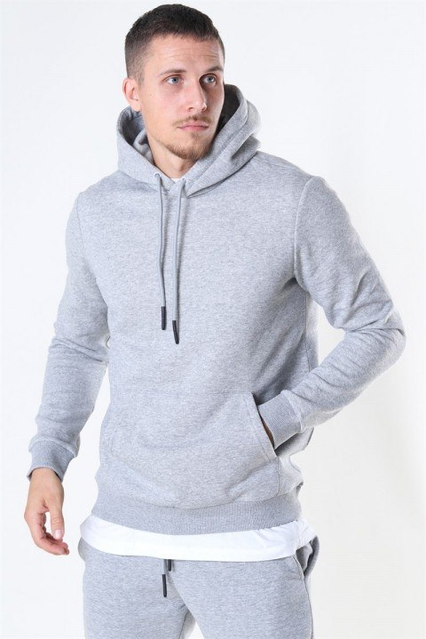 Only & Sons Ceres Life Hoodie Light Grey Melange
