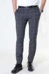 ONLY & SONS ONSMARK TAP PANT PRINT GW 9277 Dark Grey Melange