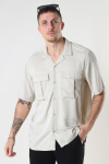 ONLY & SONS ONSSCOTTIE LIFE SS UTILITY RELAXED SHIRT Pelican