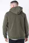 Only & Sons Ceres Life Zip Hoodie Olive Night