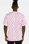Vans All Over Distorted SS White T-shirt