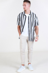 Only & Sons Wayne SS New Striped Overhemd Griffin
