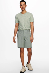 ONLY & SONS ONSMARK SHORTS MELANGE GW 8669 NOOS Olive Night