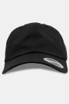 Flexfit Low Profile Cotton Twill Baseball Cap Black