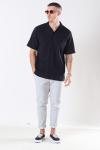 Jack & Jones Jaden Overhemd S/S Black Tap Shoe