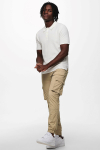 ONLY & SONS ONSMOOSE LIFE 12 SS POLO KNIT Star White