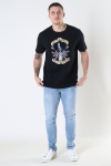 Only & Sons Onsguns And Roses Life Reg Black