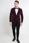 Only & Sons Teo Slim VeloKlok Blazer Fudge