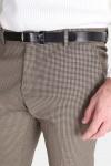 Selected Slim-Riclogan Check Pants Sand