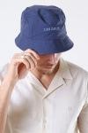 Les Deux Toulouse Poplin Bucket Hat Dark Navy/Provincial Blue