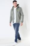 Fat Moose Brady Hood Zip Dusty Green