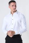 Jeff Earman Overhemd Optical White