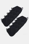 Liebhaveri Stretch Mondstuk 10-pack Black