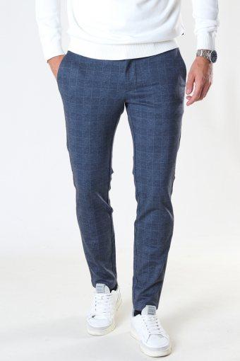 ONSMARK CHECK PANTS HY GW 9887 NOOS Dress Blues