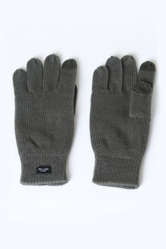 Clas Fingerforet Gebreide handschoen Deep Depths