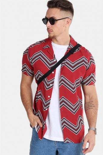 Jonathan Overhemd Trend Brick Red