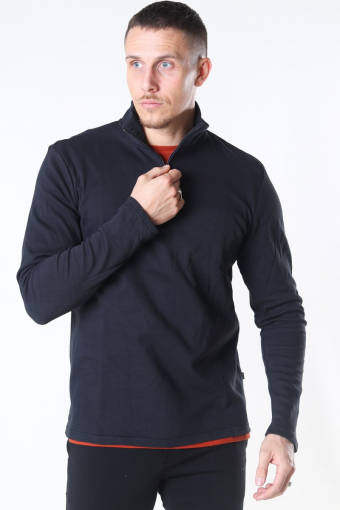 Tailored & Originals Theo LS Breien Black