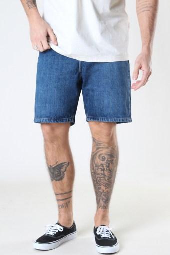 Classic Organic Dad Shorts 128 DARK WASH