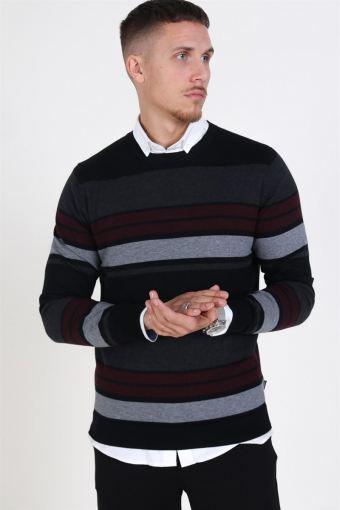 Fast Stripe Breien Black