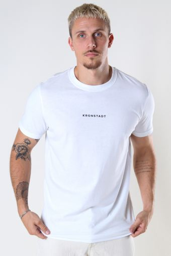 Timmi Organic/Recycled logo tee White