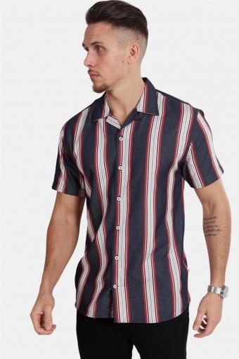 Cuba S/S Gr. 104 Overhemd Indigo