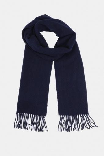 Wool Scarf Navy