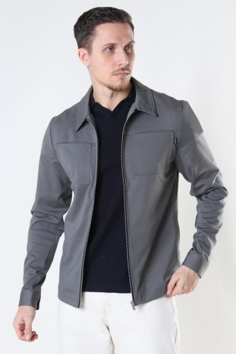 JPRPHIL SWEAT JACKET SN New Sage SLIM FIT - SOLID