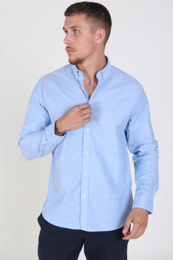 Clean Cut Oxford Plain Overhemd Light Blue