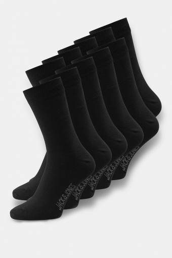 Socks 10 Pack Black