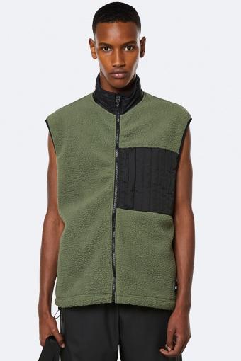 Fleece Vest 19 Olive
