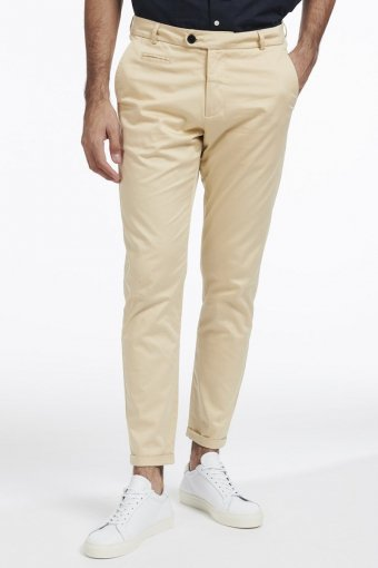 Iseo Suit Pants Khaki