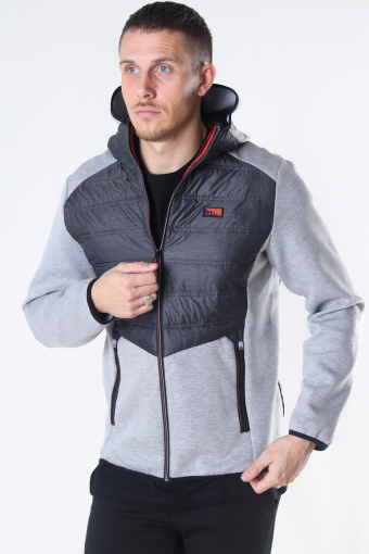 Jack & Jones Toby Hybrid Jas Light Grey Melange