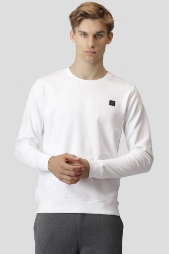 Basic Organic Crewneck White