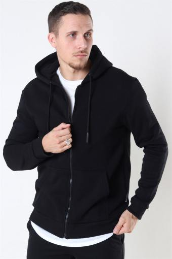Ceres Life Zip Hoodie Sweat Black