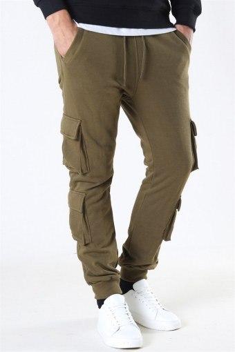 Klokban Classics Double Pocket Terry Sweat Pants Summerolive