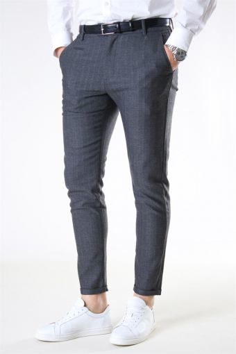 Malus Suit Pants Grey Melange